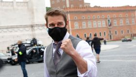 Rome Tom Cruise on the set of Mission Impossible 7