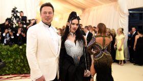 Elon Musk & Grimes Met Gala 2018