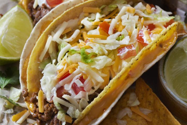 The Cheesy Gordita Beef Taco