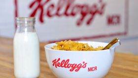 Kellogg's Pop-Up Cereal Cafe in Manchester for National Cereal Day