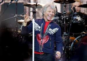 Bon Jovi Performing at Liverpool Anfield Stadium