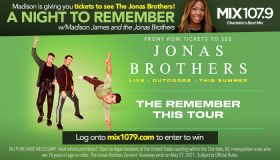 """Local: """"A Night to Remember"""" with Madison James and the Jonas Brothers Contest_RD Charlotte WLNK_May 2021"""