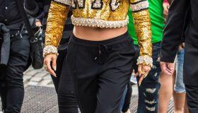 Jennifer Lopez filming her new music video