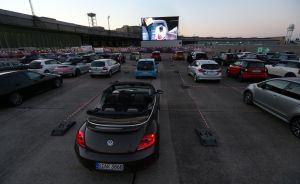"""Staatsoper Broadcasts """"La fanciulla del West"""" To Drive-In Opera On Tempelhofer Feld As Pandemic Continues"""