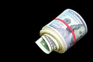 Roll of US dollars