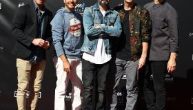Backstreet Boys are honoured with a handprint ceremony at Planet Hollywood Resort & Casino Las Vegas