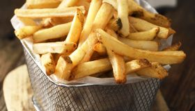 French fries in a basket