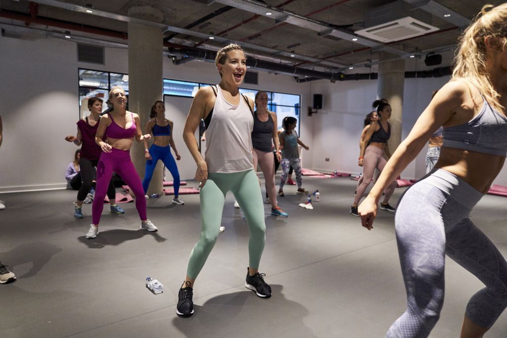 Fabletics x Kate Hudson - Q&A and workout class
