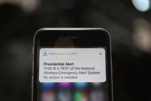 Nationwide Test Of National Wireless Emergency Alert System