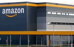 View Of Amazon Logistics Center