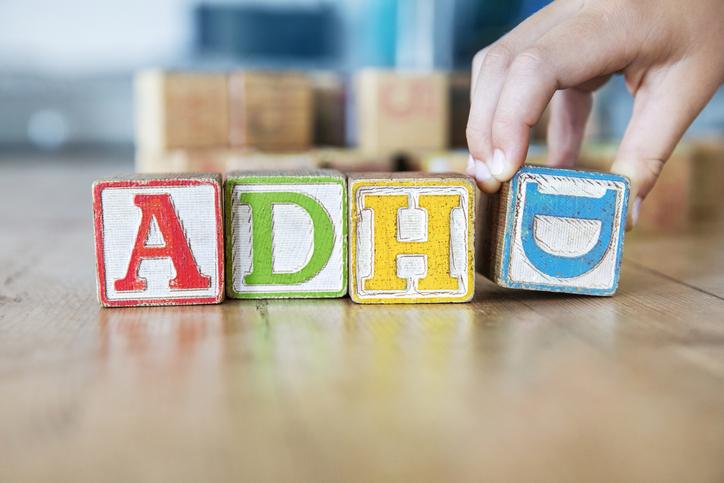 Kids wooden toy blocks, ADHD