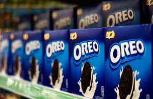 Oreo Cookies seen on a store shelf...