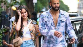 Celebrity Sightings In New York City- June 18, 2021