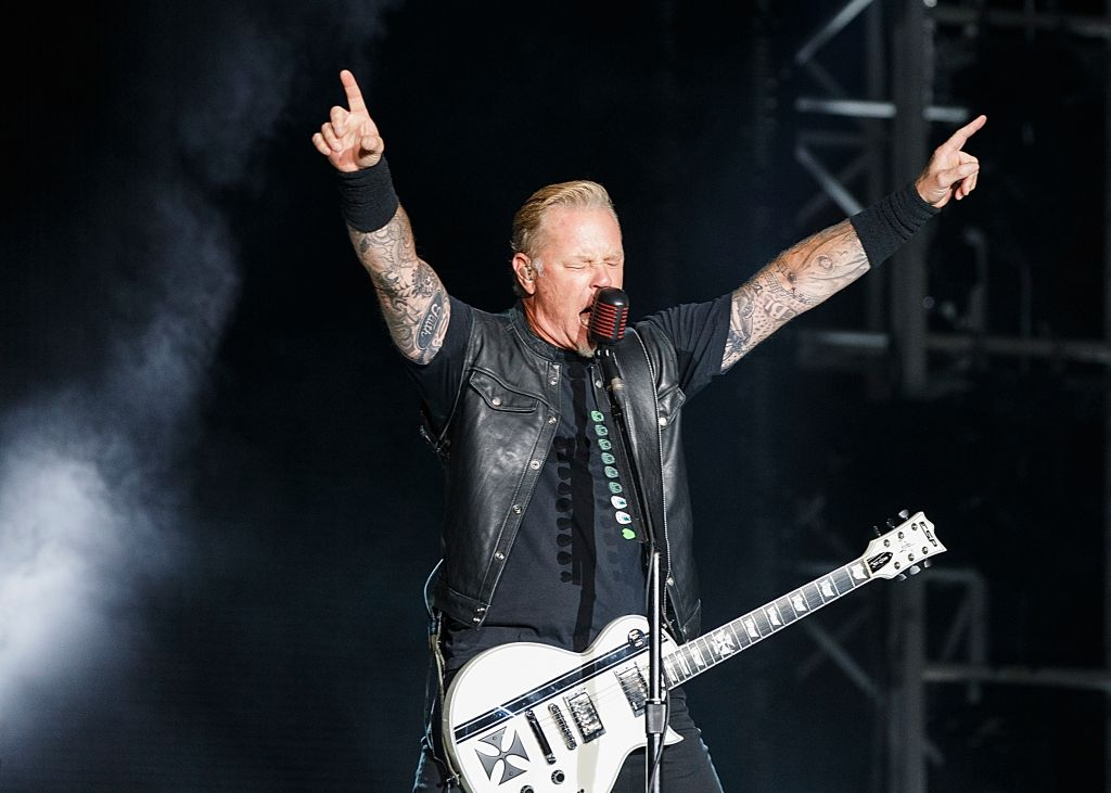 Metallica Performs At BC Place