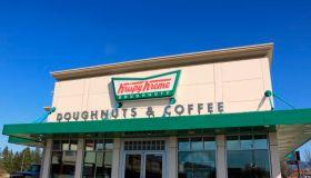 Krispy Kreme doughnut shop
