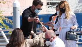 Jennifer Lopez and Ben Affleck at the Venice Lido