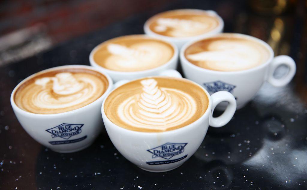 Latte Art at the London Coffee Festival