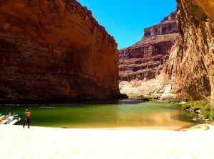 Colorado River rafting thru Grand Canyon NP