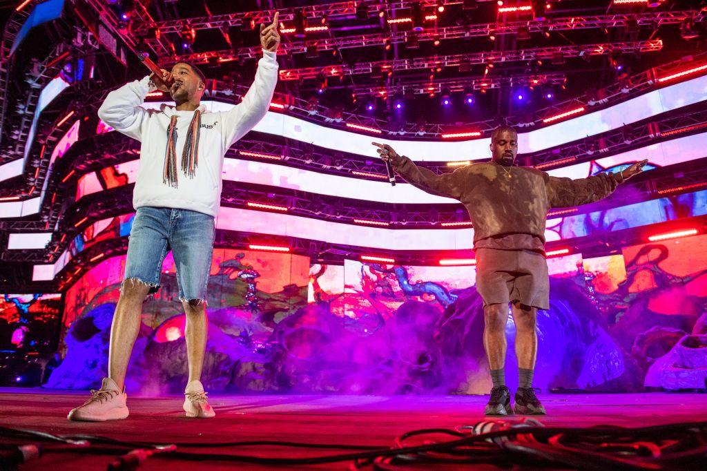 Kanye West& Kid Cudi Coachella