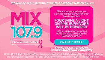 Shine a Lite on Pink- Breast Cancer Survivors Letters Contest_RD Charlotte WLNK_September 2021